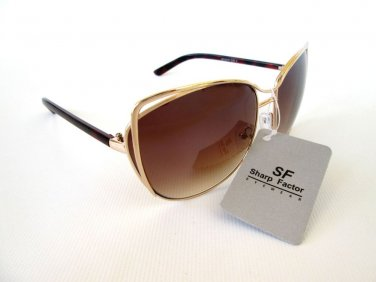 Good New Style Women's Sunglasses With Brown Lens and Tortoise Lens