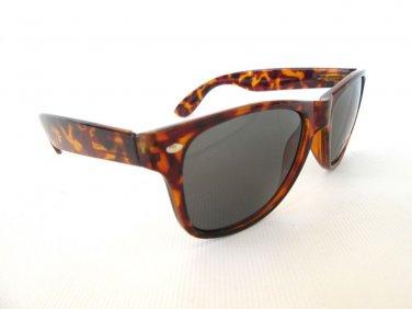 Men Sunglasses Wayfarer Aviator Style with Tortoise Frames & Brown Lens  - NEW!