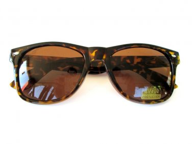 Popular Style Brand New Unisex Aviator Sunglasses With Tortoise Brown Lens