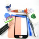 Front Glass Screen+Repair Tools Glue Set for Samsung Galaxy S i9000~Black 03665-MSTSi9000nB-TG