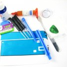 Front Glass Screen+Repair Tools Glue Set for Samsung Galaxy s4 i9500 i9505~White 03677-MSTSi9500nW-T