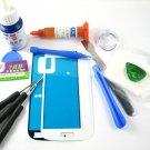 Front Glass Screen+Repair Tools Glue Set for Samsung Galaxy S4 mini i9190~White 03683-MSTSi9190nW-TG