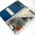 Full LCD Display+Back Battery Cover+Frame For Sony Xperia Z3 Compact~White 03922-MECLXperZ3CnW