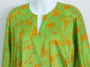 Baju Kurung - Hijau Kuning