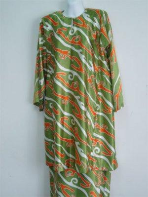Baju Kurung - Hijau