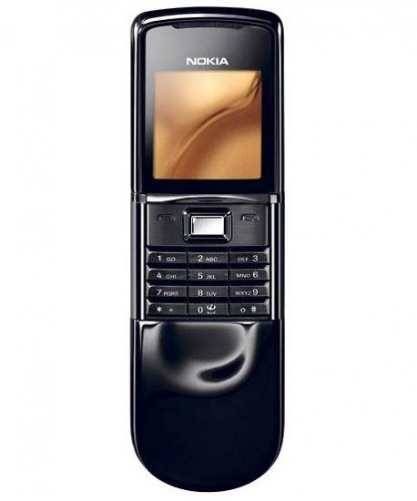 Nokia 8800 (Black) -Scirocco - Brand New Unlocked GSM Phone