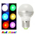FREE SHIPPING - LED Color Changing Light Bulb with Remote Controller