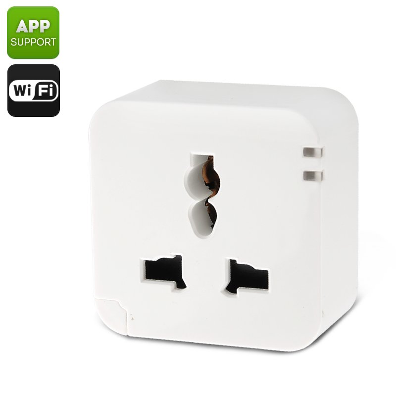 KanKun KK-SP3 Wireless Wi-Fi Smart Plug App, Remote Control For Android and iOS, US/AC90-265V