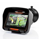 All Terrain 4.3 Inch Motorcycle GPS Navigation System Rage IPX7 Rating 8GB Internal Memory Bluetooth