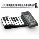 Flexible Roll Up Synthesizer Keyboard Piano - 88 Soft Keys, Loud Speaker
