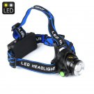 CREE T6 Head Lamp - 1200 Lumen, 3 Light Settings, Adjustable Head Strap, Weatherproof