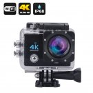 Wi-Fi 4K Waterproof Sports Action Camera - 4K Ultra HD, 16MP,2 Inch, HDMI, 170 Degree Wide Angle