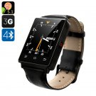 NO.1 D6 3G Smart Watch - Android 5.1, 3G, Bluetooth 4.0, Wi-Fi, GPS, Pedometer, Barometer