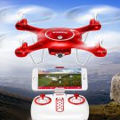 Syma X5UW Quadcopter - 6 Axis, 720p FPV Camera, Two Flight Speeds, iOS And Android Support, 500mAh