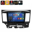 2 DIN Car Stereo Mitsubishi Lancer Android 6.0, Octa-Core, 2GB RAM, GPS, 10.2-Inch, Wi-Fi, Bluetooth