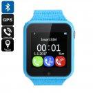 VK7 Kids GPS Smart Watch - GSM SIM, Twitter, Facebook, WhatsApp, Realtime Tracking, GPS+AGPS+LBS