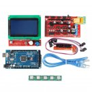 Arduino 3D Printer Controller Kit Mega 2560 Board, 3D Printer Controller RAMPS 1.4 Board, 12V, 180W