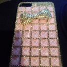 Iphone 6  Bling Plus Pink Phone case rhinestone and Bow