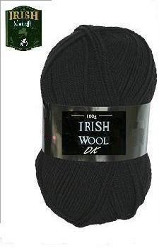 Irish Black DK Yarn