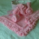 Hand Crocheted Baby Set