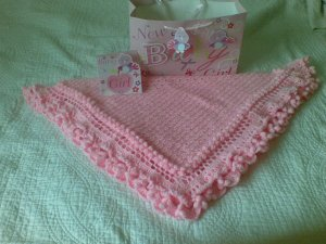 Baby Shawl Pink