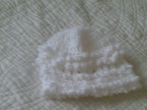 Celtic Crocheted Baby Hat