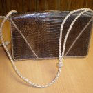 Genuine African Snakeskin Clutch Purse Handbag
