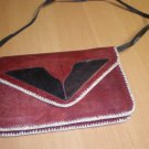 Genuine African Leather Clutch Purse Handbag