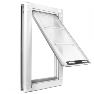 Endura Pet Door - Medium Door Mount - Dual Flap