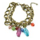 P8222 - Multi Color Charm Bracelet