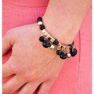 Black/Gold bracelet