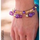 Purple/Gold Bracelet