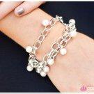 Silver/White a Bracelet 3
