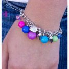 Multi Color Heart Bracelet