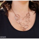 Copper tone necklace