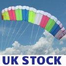 UK STOCK - SKYWALKER DUAL-LINE CONTROL PARAFOIL PARACHUTE POWER STUNT SPORT KITE