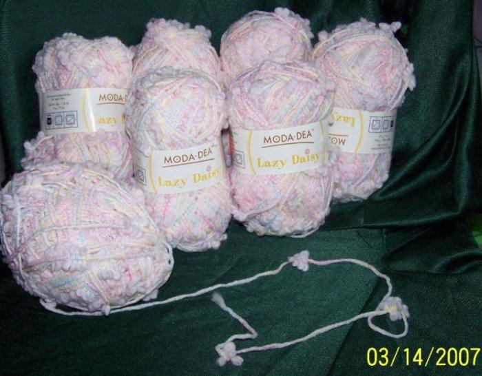 moda-dea lazy daisy yarn