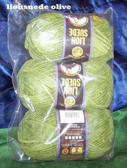 lion brand suede yarn