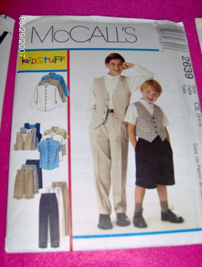 McCall's Sewing Pattern 2639