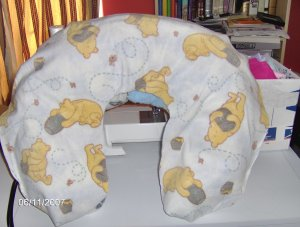 Winnie the Pooh & Honey Pot Boppy/Support Pillow