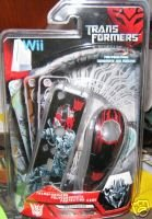 TRANSFORMERS DECEPTICONS NINTENDO Wii REMOTE COVER NEW