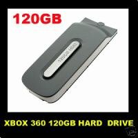 NEW OFFICIAL XBOX 360 HARD DRIVE 120GB HDD CHEAPEST