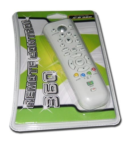 XBOX 360 DVD PLAYBACK REMOTE