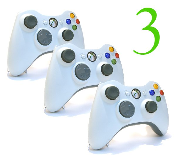 3 NEW ish XBOX 360 WIRELESS
