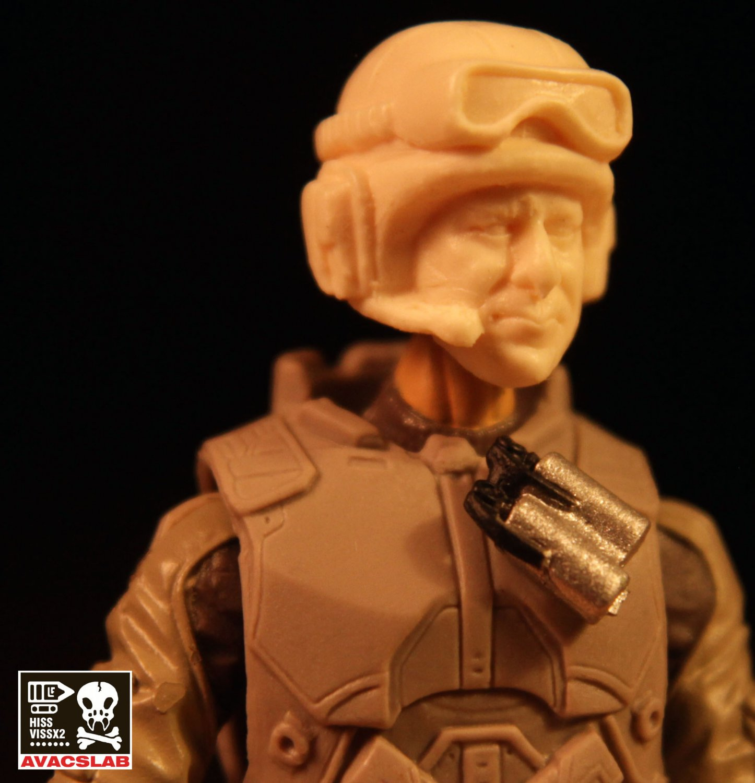 Tank Commander Head