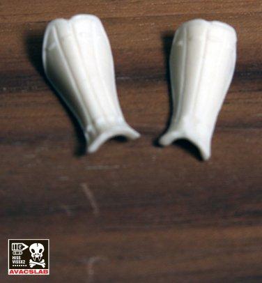 Spar Calf Guard Pair I (White)