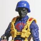 Para-Snake  Black W/ Blue Helmet