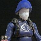 Femme Trooper Hair Bun & Helmet