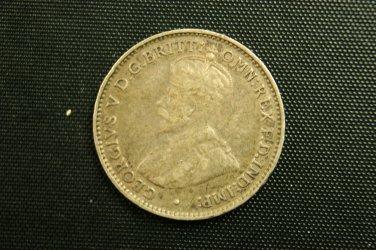 1927 Australia Three Pence