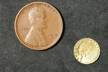 Micro $2.5 Gold Piece